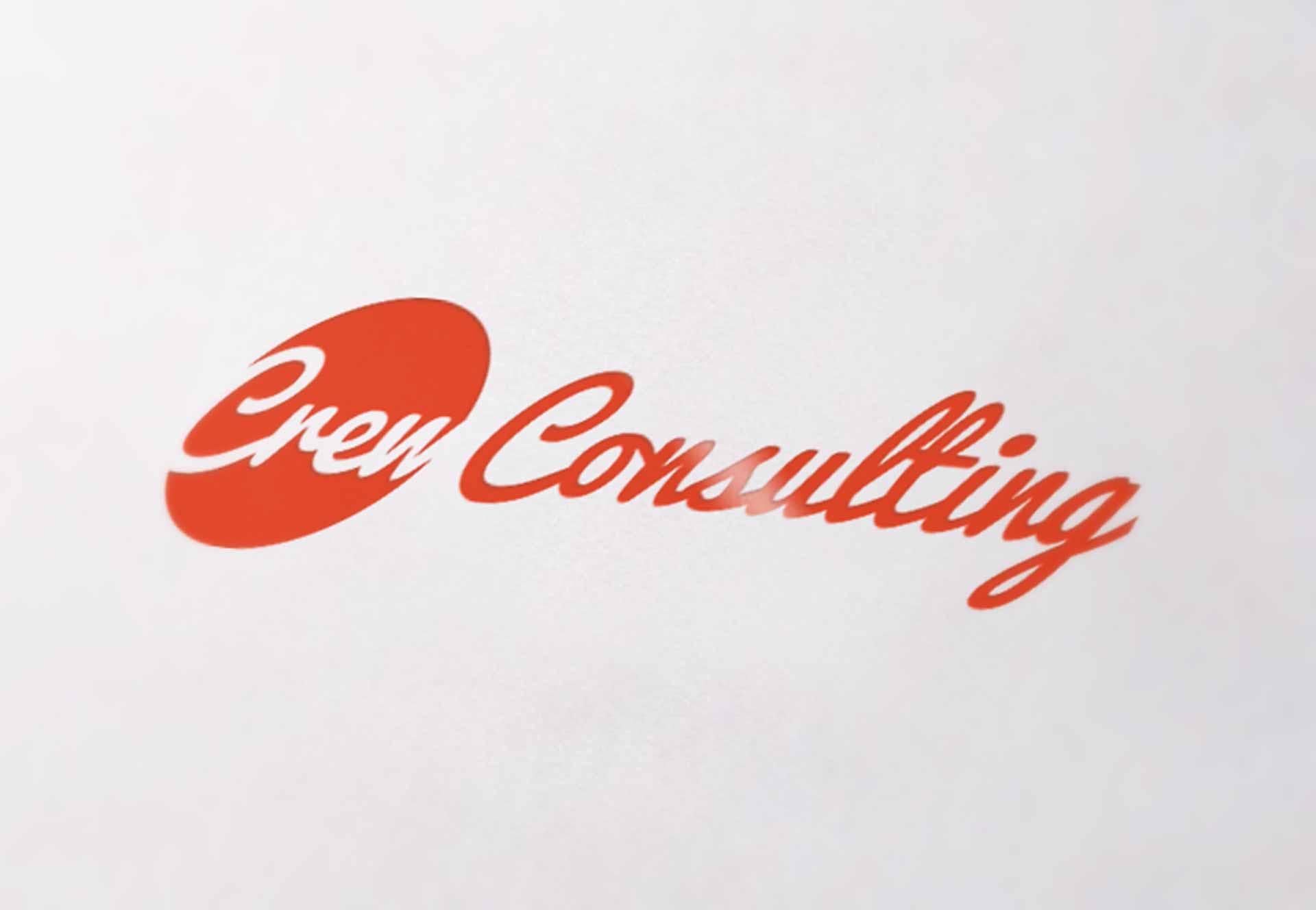 Crew Consulting Logo Mockup